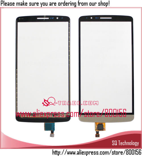 for LG G3 Screen Glass, for LG G3 Touch, OEM Touch Screen for LG G3