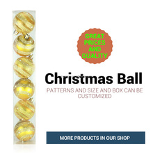 Customized Size Factory Large Outdoor plastic Christmas Balls