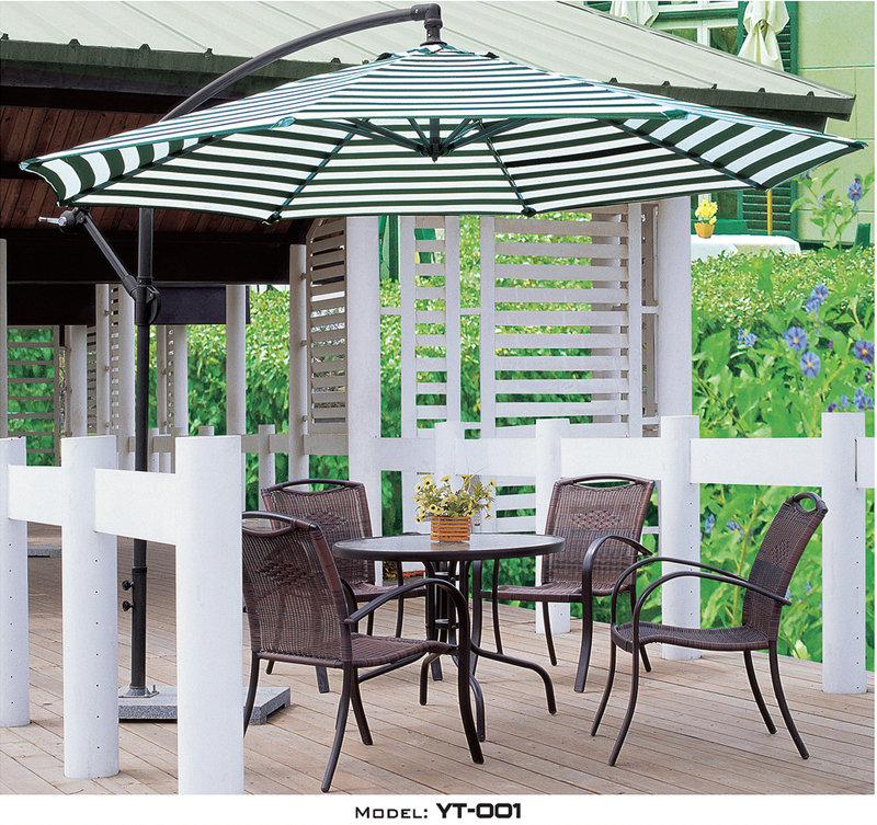 Cast Aluminum Table Iron outdoor furniture YT-001#