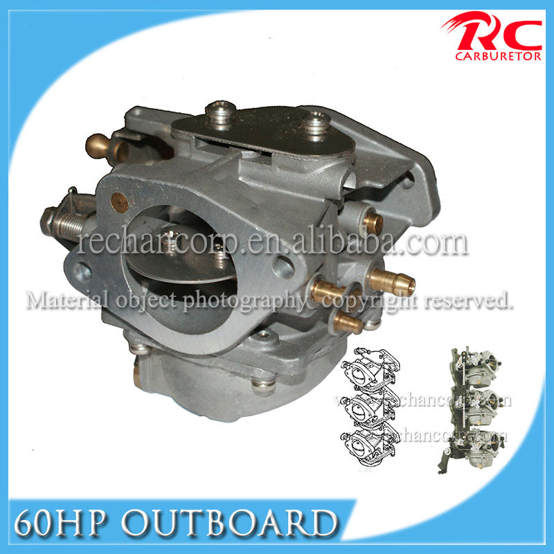 Carburetor ASSY For YAMAHA 60HP Outboard Engine Carburetor 6K5-14301-03-00 Replacement Carb