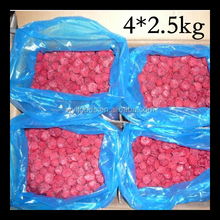 Wholesales of 2016 new crop season Frozen IQF raspberry whole