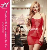 HOT SALE simple design women wearing silk babydolls for sale