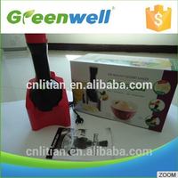 Sample available Beautiful appearance commercial stainless steel cone yogurt blender machine real fruit ice cream maker