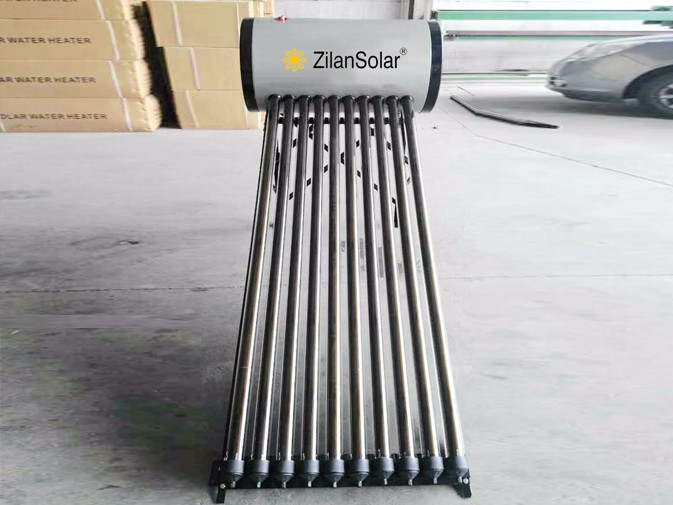 Heat pipe pressurized solar water heater 100liters