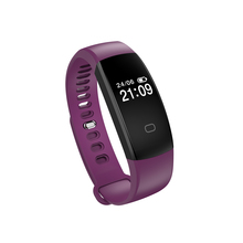 F08HR Heart Rate Monitor Bluetooth Smart Band Wristband Fitness IP67 Waterproof Pedometer Bracelet forIOS and Android phone