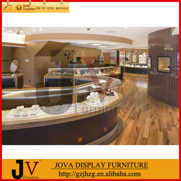 High quality jewelry store furniture design from Guangzhou