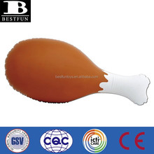 Promotional customized giant inflatable turkey leg advertising PVC big turkey leg display