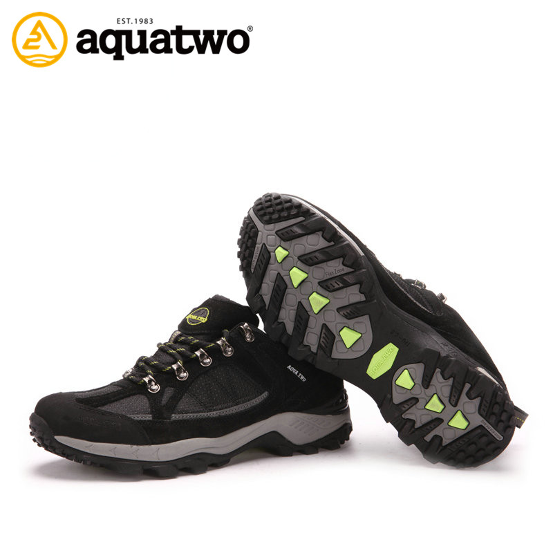 2014 AQUA TWO new wholesale waterproof outdoor hiking shoes men