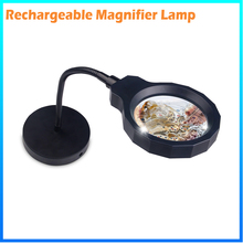 DH-88002 Best New Arrival Rechargeable 2 In 1 Datachable Magnifier For Printers