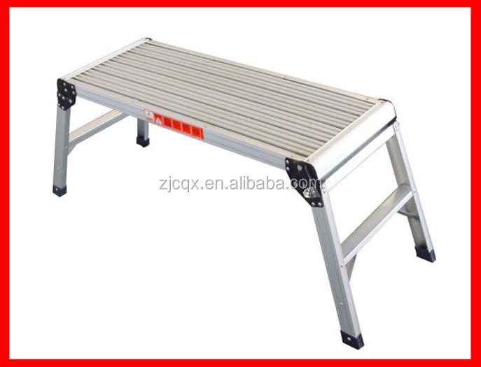 folding work table bench ladder with foldable legs