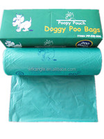 biodegradable dog poop packing bag in box