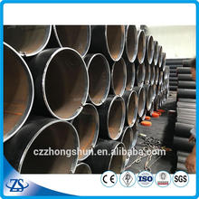 "nps 5"""" sch40 steel pipe structural steel fabrication with machine part pipeline"