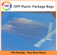 Wholesale Transparent Self-adhesive OPP Plastic Bags For Book Pack