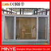 Modern upvc sliding window pvc frame material supplier prices upvc window