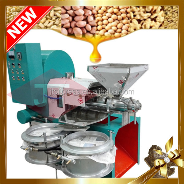 China manufacturer low price automatic sesame sunflower cotton flax seeds small home black oil processing oil filter machine