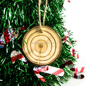 DIY Wooden Craft Natural Wood Slices for Christmas and Wedding Ornament