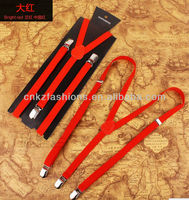 1.5cm strong elastic suspender for man