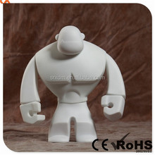 New Design Blank Hercules vinyl figure, Make your own vinyl blank figure, OEM unusual vinyl toys Shenzhen SRX manufacturer