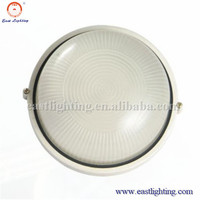 Diecasting aluminum outdoor surface mounted bulkhead wall lamp