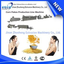 Stainless steel breakfast cereal puffed corn flakes production machinery/line