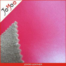 real leather flocking pu leather, high quality polishing pu artifical leather for shoes