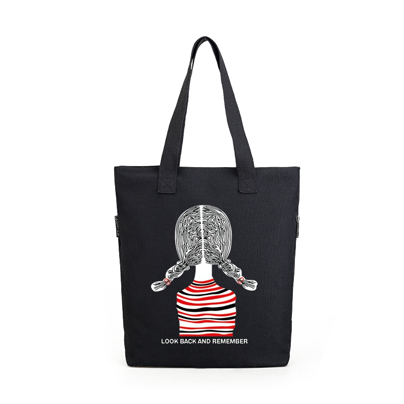 Wholesale promotional <strong>eco</strong> tote cotton canvas shopping bag