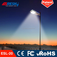 Energy-Saving Solar Led Street Light Price List With Lithium Battery