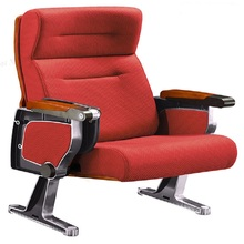 Triumph Modern armrest cinema chair / theater chair cover fabric /theater auditorium hall chair