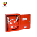single jacket convenient 1 inch Fire Hose reel cabinet