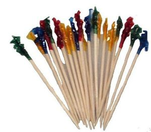 Club Frills Sandwich Toothpicks Cocktail Appetizer Snack Food Party Picks
