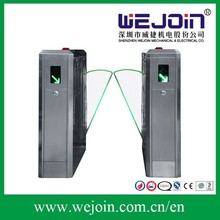 automatic flap barier gates door access control system