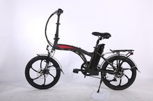 20 INCH cheap mini foldable electric bicycle F&R V brake folding ebike