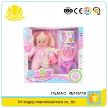 wholesale china wonderful toy simulation baby alive doll with multi function