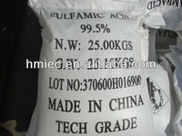 Industrial Grade Sulfamic Acid 99.5%min with high purity and best quotation and service