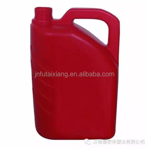 Highly Efficient 8 Liter Automatic Plastic Oil Barrel / 4L white HDPE oil barrel /pail /container with cap and gasket