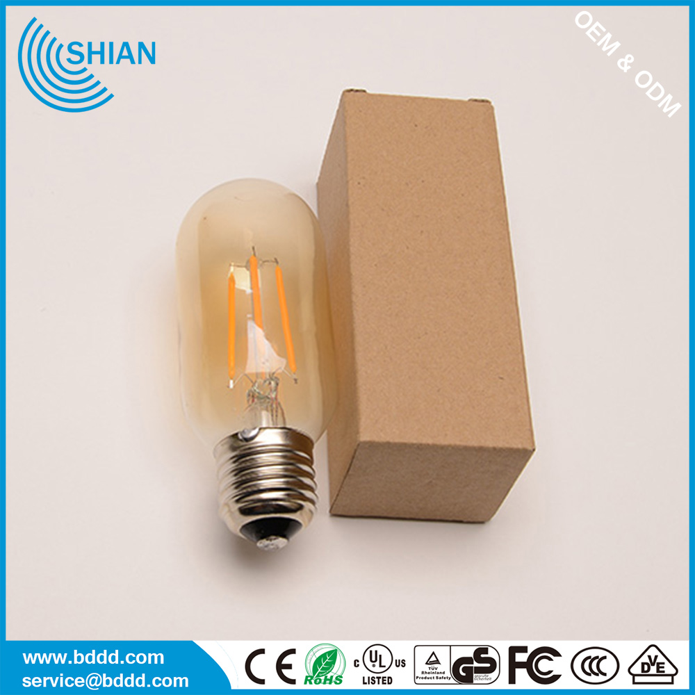 UL CE approval ST64 dimmable filament led bulb with 6 watt 64x148mm led filament lamp