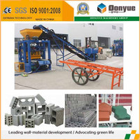 construction machinery group hydraform brick making machine in south africa concrete block factory on site