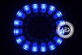 AES Square Lotus LED square ANGEL EYE for HID car headlight