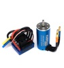 Classic 3674 motor brushless dc motor with 120A ESC combo for 1/10 1/8 rc truck car off-road car