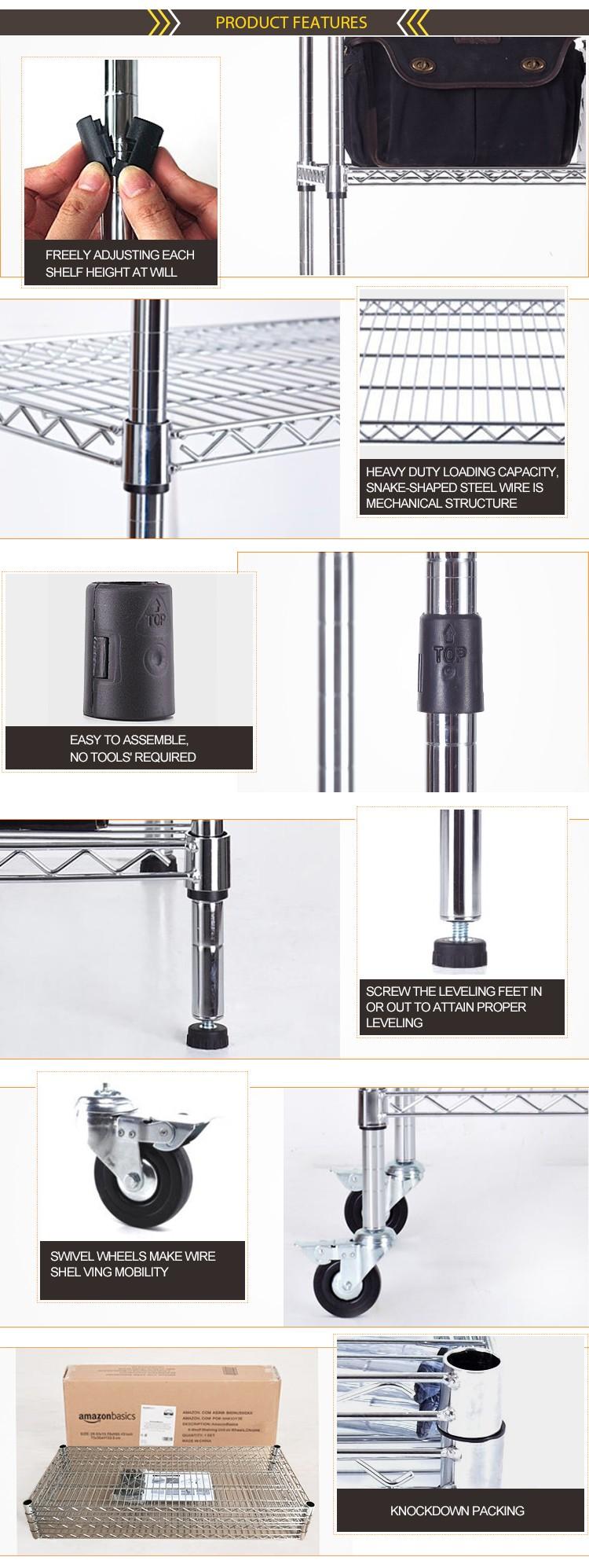 Многослойные Наклонные 5 Яруса Металла Дисплей Полки Провода От Стойки И Стеллажи Завод