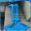 cheaper Crocheted mermaid tail blankets mermaid tail blankets We are a reliable factory(Accept custom)