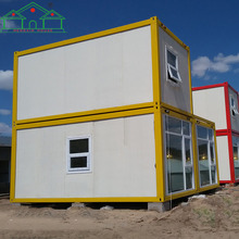 Factory directly sell solar power fold windproof prebuilt flexible prefab container home