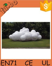 helium cloud for promotion, giant PVC inflatable advertising cloud