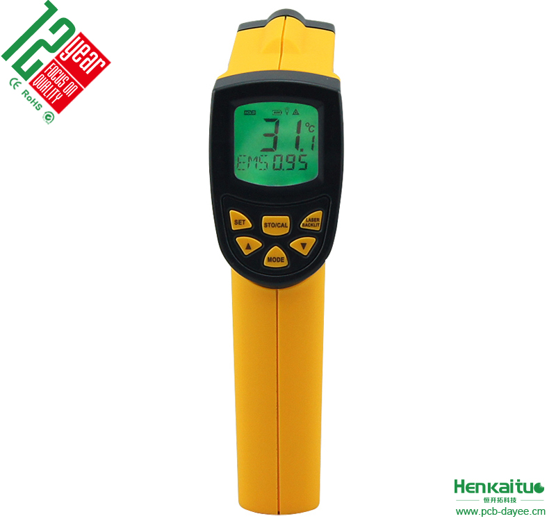 Digital Infrared Thermometer -20~420 Degree Laser <strong>Temperature</strong> Meter