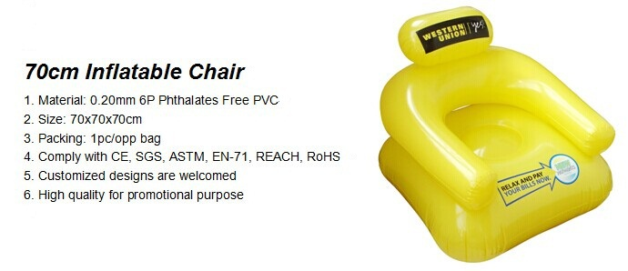 70cm Inflatable Chair