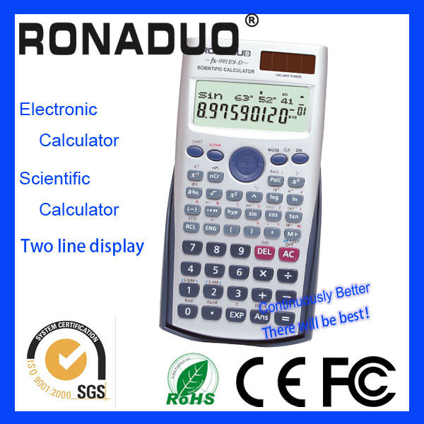 Brand new 12 digits lcd display big keys abs case handmade calculator ranges function electron calculator