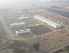 FEB engineering Prefab Steel Structure Factory Building for industrial park or logistics park