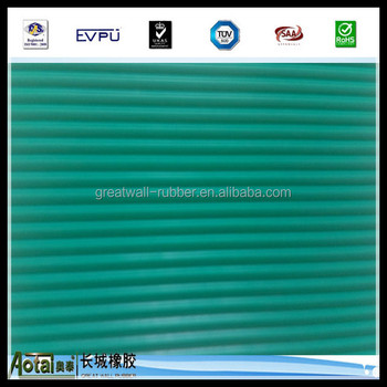 9.5mm Thick Ribbbed Electrical Safety Matting Safety Workplace Rubber Mat