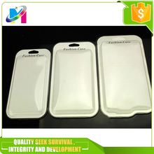 Phone case use hanger blister card packing wholesale clamshell blister pack