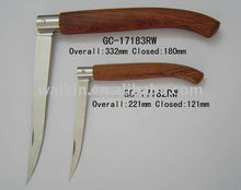 Long Blade Wood Handle Fish Cutting Knife In High Quality